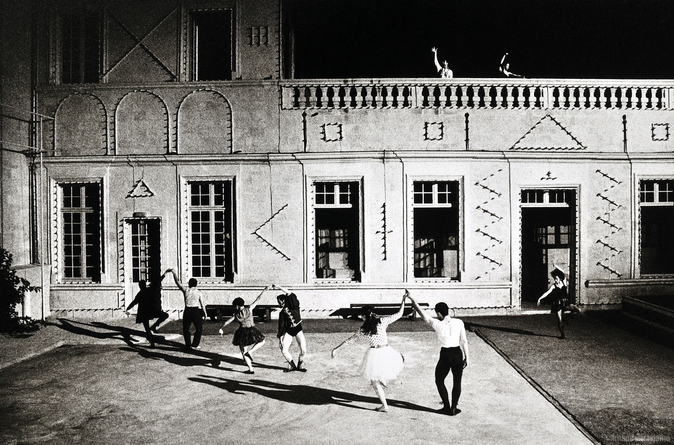 Dominique, Bagouet, Le saut de l'Ange Festival Montpellier Danse 1993