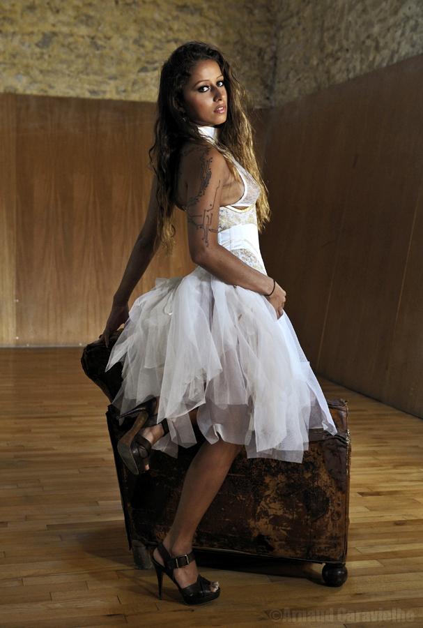 Liza, juin 2013 (Robe et corset : Séverine Dartois)