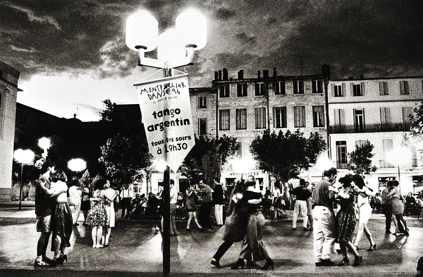 Tango de rue, Festival Montpellier Danse 1994
