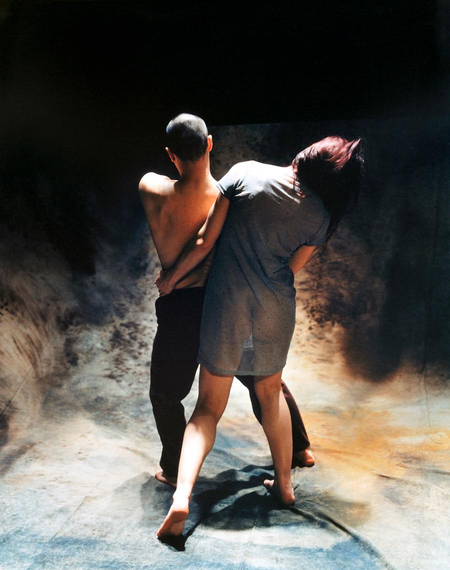 """Compagnie Mi-Octobre, """"Partiellement Effacé"""" - Paris, 2000"""