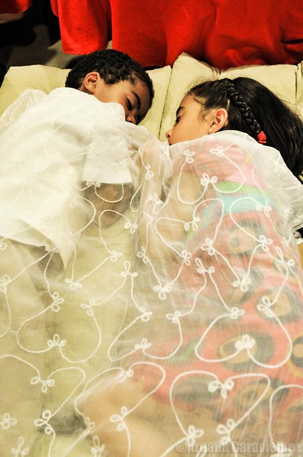 Enfants, mariage de Sylvie et Israël, Espagne 2012