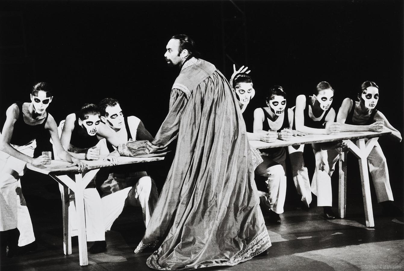 """Maurice Béjart, """"King Lear"""" - Festival Montpellier Danse 1992"""