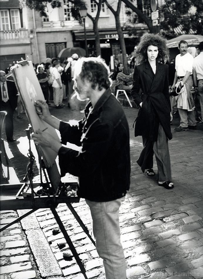 Cécile, Montmartre 1996