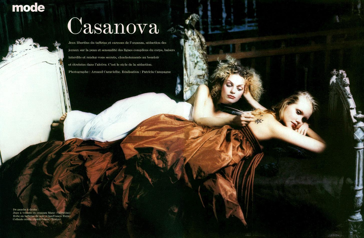 """""""Casanova"""", magazine FEMME"""